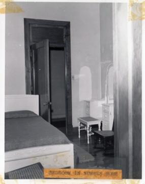 Bedroom in nurse's home