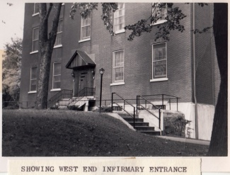 West Side of Infirmary