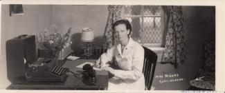 Henrietta Rogers, Superintendent of Nurses, ca. 1939.