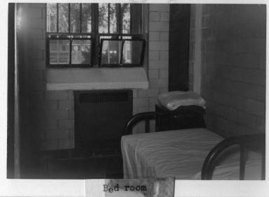 Bedroom in ward