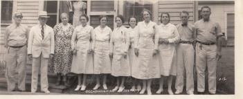 Occupational Therapy Staff, ca. 1940s