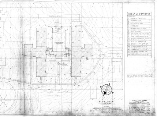 Csh blueprints kentucky historic institutions blueprints for the merritt building dated november 28 1942 malvernweather Images