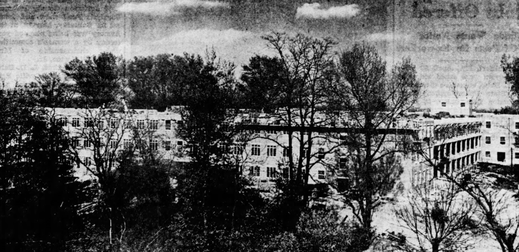 Hazelwood as a tuberculosis sanatorium.