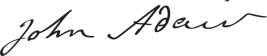 John_Adair_Signature