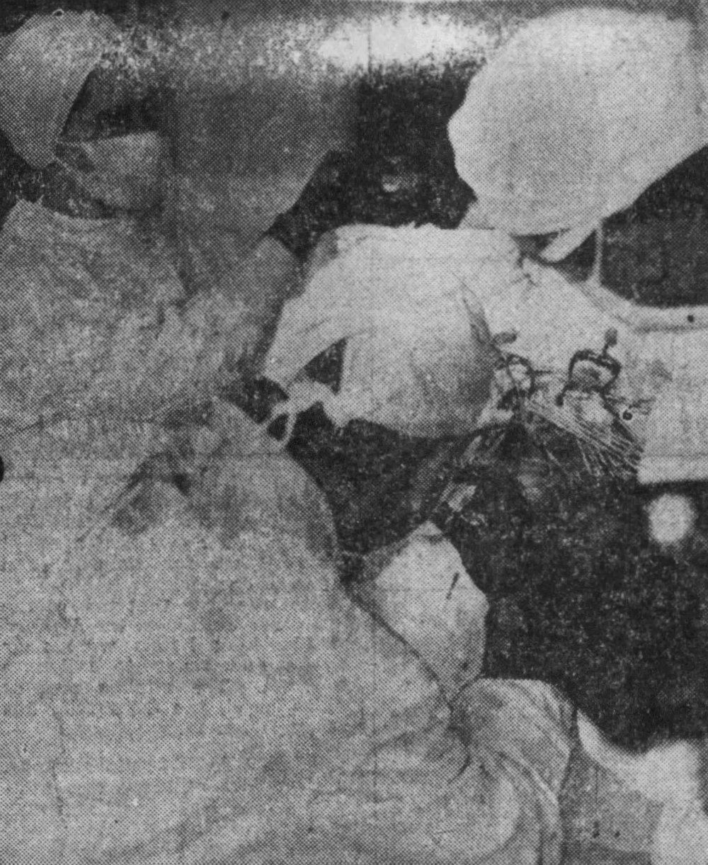 The Press Democrat (Santa Rosa, California), 14 April 1949, p. 5.