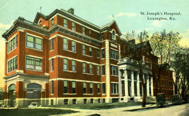 Saint Joseph Hospital – Kentucky Historic Institutions